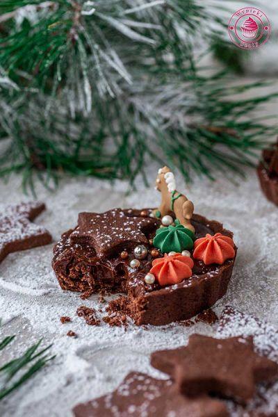 krucha tarta czekoladowa z piernikiem