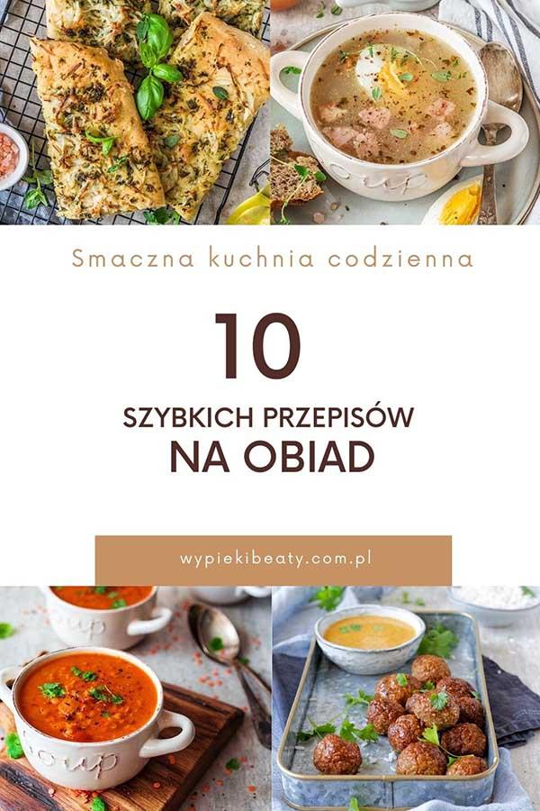10 szybkich przepisów na obiad