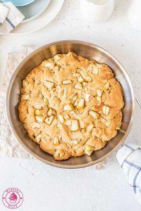 jabłkowe ciastko z patelni