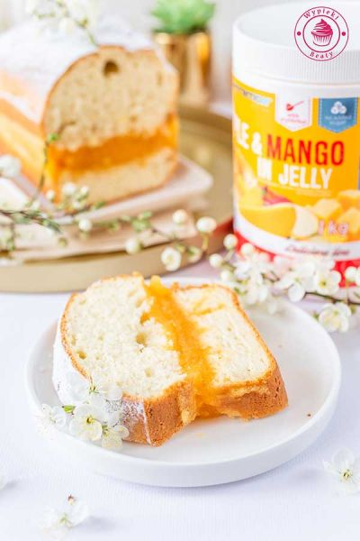 ciasto z galaretką mango