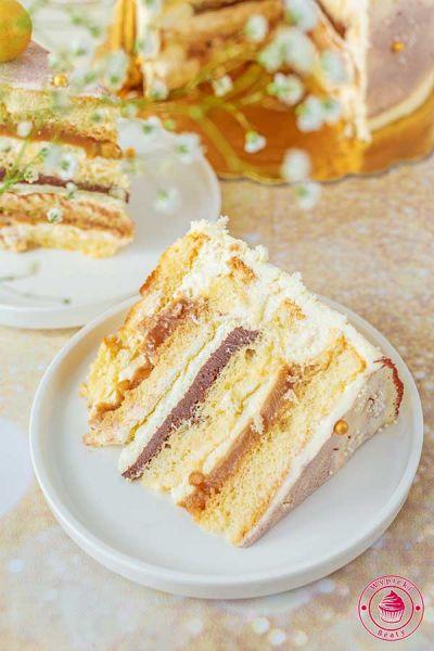tort urodzinowy z czekoladą