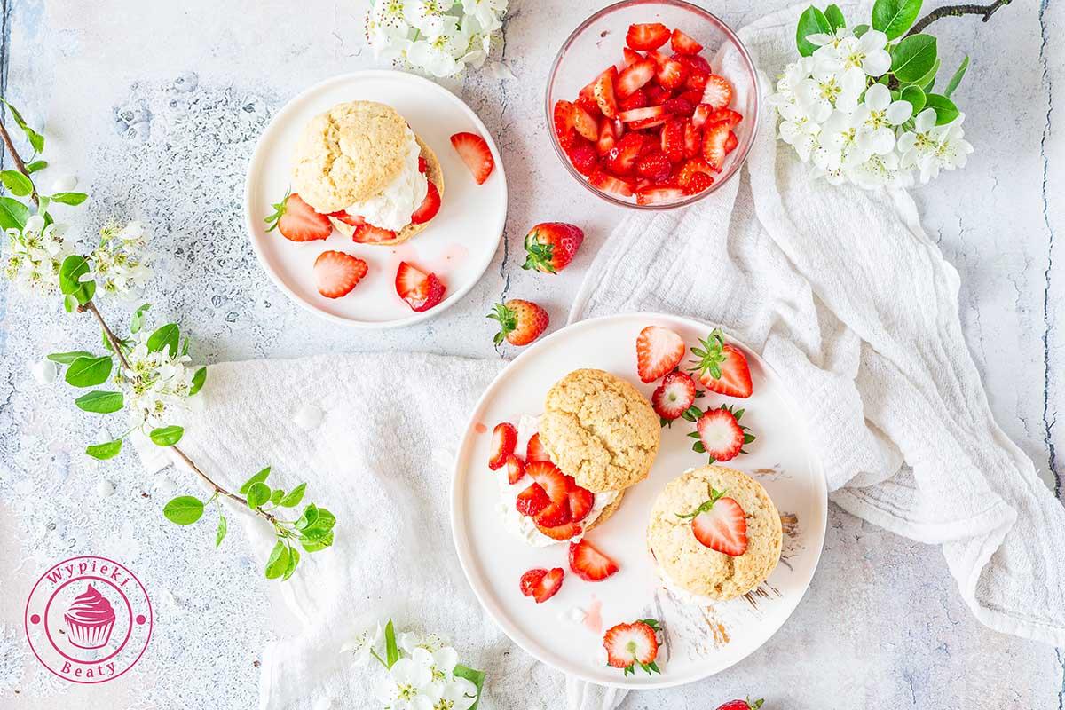 truskawkowe shortcakes