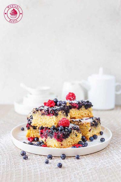 proste ciasto owocowe