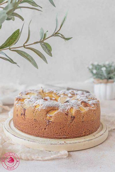 łatwe ciasto z brzoskwiniami